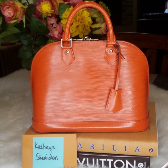 Louis Vuitton Handbags - LOUIS VUITTON ALMA PM PIMENT ORANGE SILVER BAG